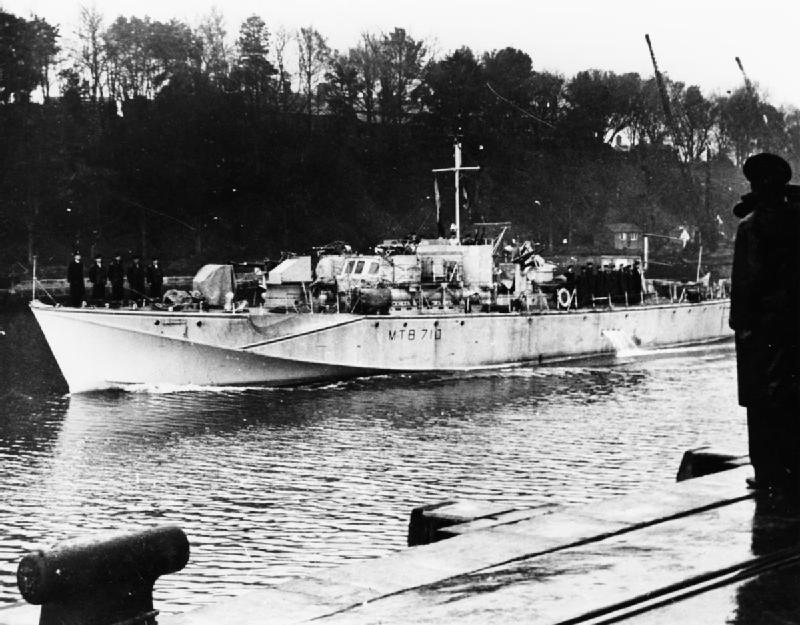 motor torpedo boat mtb 710