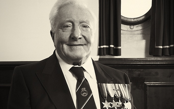 Coastal Forces Veteran Ken Gadsdon