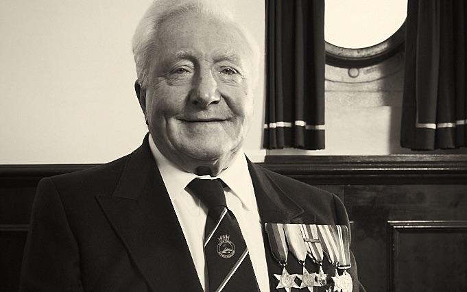 Coastal Forces Veteran Ken Gadsdon